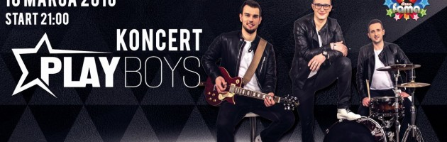 ✰ Koncert ✰PLAYBOYS ✰ 18.03.2016 ✰ Disco Fama ✰